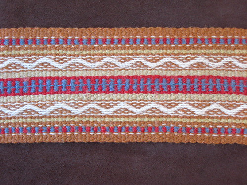 Mountain Man Sash Detail