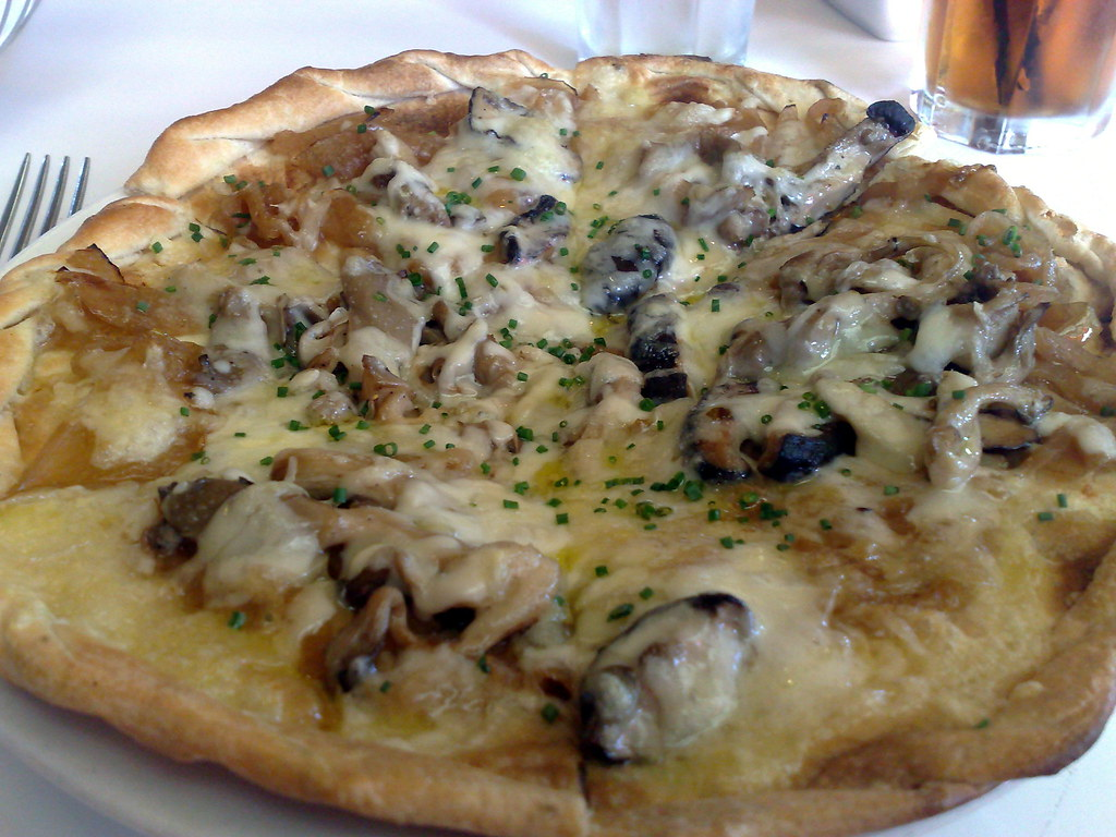 Caramelized Onion and Mushroom Tarte