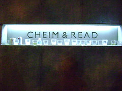 Cheim & Read and Booze (JoAnna Black) Tags: sign wine artgallery cups cheimread cheimreadgallery cheimandread