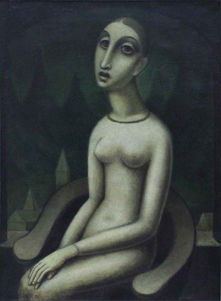 Jan Zrzavy, Melancholy, 1912