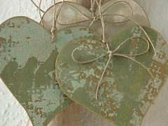 Love - peace - unity heart... (Iro {Ivy style33}) Tags: wallpaper vintage hearts heart handmade ornaments gift etsy christmasdeco newivystyle