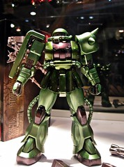 AFA09 (nighteye) Tags: colour version mg chrome ii 20 zaku 2009 ver bandai 1100 coating exf animefestivalasia afa09