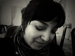 Testing Oldcamera app: Kallitype, my lovely friend Sara