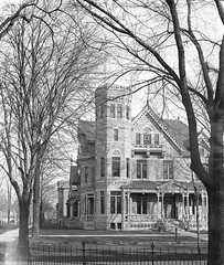 Voigt residence (southofbloor) Tags: house building architecture lost missing detroit victorian architect destroyed demolished