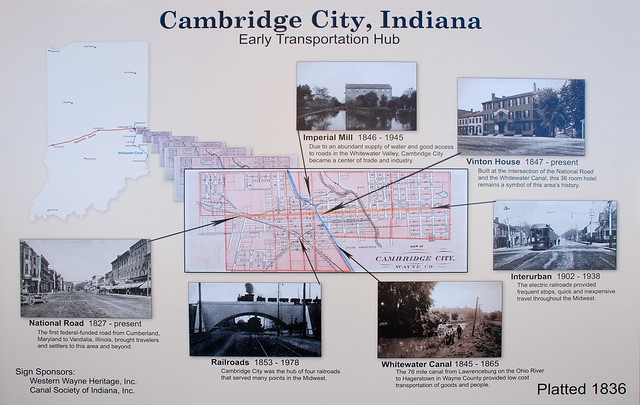 Cambridge City, Indiana History
