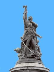 Place Clichy Statue - Paris (Pantchoa) Tags: paris place clichy placedeclichy quartier maréchal moncey barrièresdeledoux placeclichy visiter tourisme statue france pantchoa françoisdenodrest