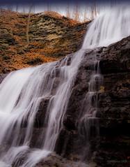 Sherman Falls (DHPhotos) Tags: autumn ontario water creek waterfall stream falls brook potofgold shermanfalls hamiltonwaterfallgroup