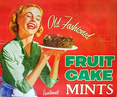 Old Fashioned Fruit Cake Mints Lady