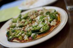 Seasonal Vegetable Pizza-Peacefood Cafe