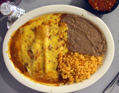Enchiladas at Los Vega