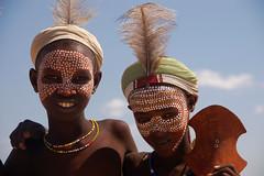 Arbore boys (CortoMaltese_1999) Tags: africa culture afrika tradition ethiopia ethnic ethnology eastafrica thiopien etiopia ostafrika etiopa arbore ethnie ethiopi  thiopie erbore ulde etipia southethiopia murule eribori irbore
