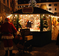 Christmas market (Erwin Vindl) Tags: night lights austria tirol nikon christmasmarket oldtown innsbruck d80