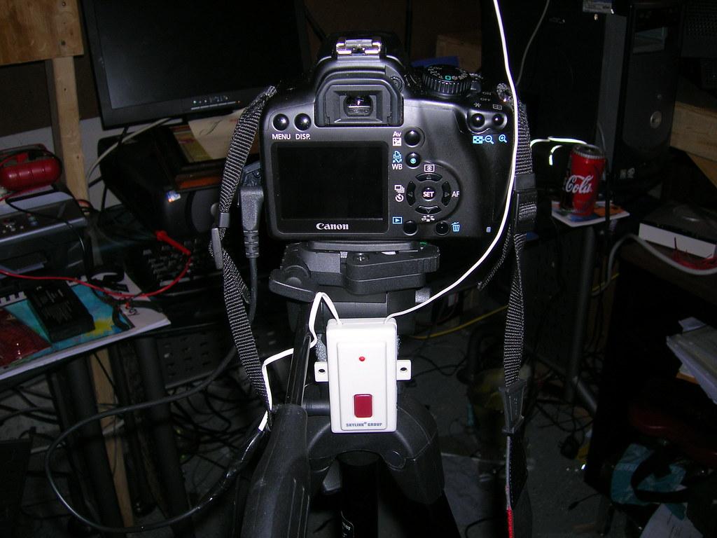 DIY Wireless Remote on Camera
