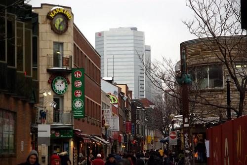 De la Gauchetière - Quartier Chinois / Chinatown Montréal
