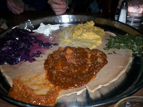 ethiopian food on christmas eve