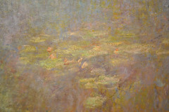 "W 1972-1974 CM 1914-26 Claude Monet. Water Lilies. 1914-26  Water Lilies. Claude Monet (French, 1840-1926). 1914-26. Oil on canvas, 6' 6 1/2"" x 19' 7 1/2"" (199.5 x 599 cm). Mrs. Simon Guggenheim Fund, detail. MOMA, NYC.jpg (renzodionigi) Tags: nyc newyork painting contemporaryart modernart moma monet claude impressionist arthistory impresionism pittura daniel catalogue raisonn wildenstein"