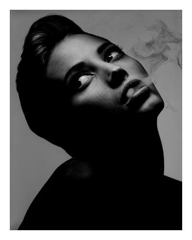 ALBERT WATSON Christy Turlington New York 1990