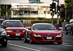 Audi R8 (Noah Gillard Photography) Tags: california red beverlyhills carbon audi coupe r8 noahgillardphotography noahgillard