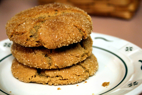 Giant Ginger Cookies.