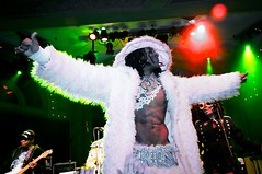 George Clinton and the P-Funk All Stars: MLK Day at the Crystal Ballroom, Portland OR