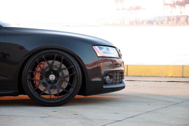 Audi A5 by HRE Wheels