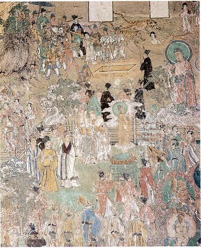 大雄宝殿西壁中部壁画| Flickr - Photo Sharing!