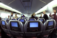 747 Cathay Pacific (Ch.H) Tags: fish eye view pacific flight cockpit hong kong deck karl arrival instruments departure 2009 cathay 747 hab 467 vhhh