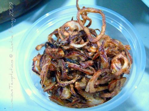 Fried Shallots - New Year's Eve, Kuala Lumpur