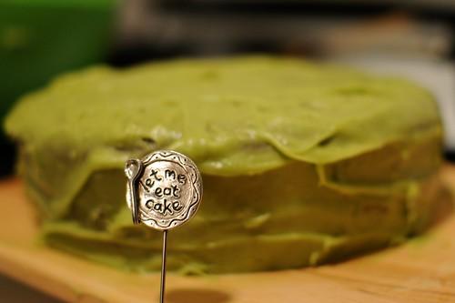 Vegan Avacado Cake