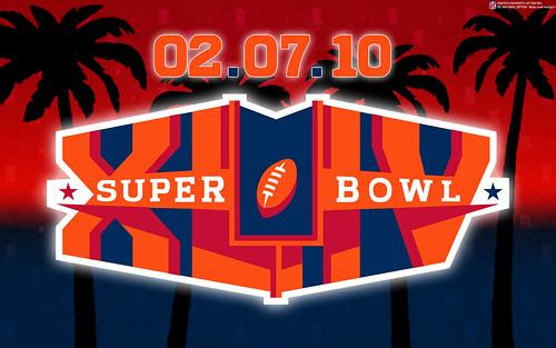 Super Bowl XLIV Wallpaper (Logo Only)