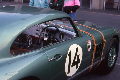 1953 Aston Martin DB2 convertible · 1948 Aston Martin DB1 racer