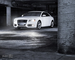 2010 Audi A5 2.0 TFSI Quattro Wallpaper (Auto123.tv) Tags: auto wallpaper white canada car leather automobile montreal parking union transport automotive canadian matthieu turbo transportation network motor lambert expensive audi a5 luxury automobiles quattro vehicule auto123