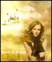 # Taylor Swift - Forever & Always (samuelpera) Tags: male castle photoshop studio amrica cd magic pra fairy american eua taylor always swift forever edition sempre samuel fearless blend mgico trigo montagem ambiente manipulao edio photofiltre pra ceifa