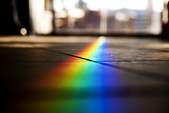 Rainbow's End (michaeljosh) Tags: colors rainbow floor spectrum bokeh philippines prism explore starbucks frontpage glassdoor potofgold rainbowsend project365 tamron1750mmf28 subicbayfreeport nikond90 michaeljosh