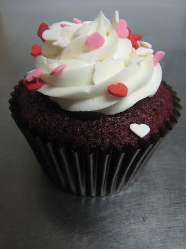 Cran-Raspberry Cupcake