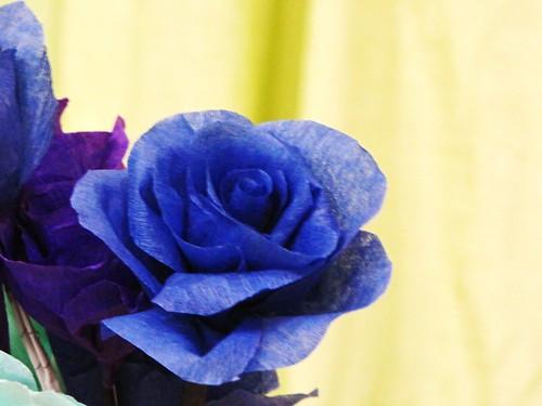 IMG_9203 Blue Paper Rose,
