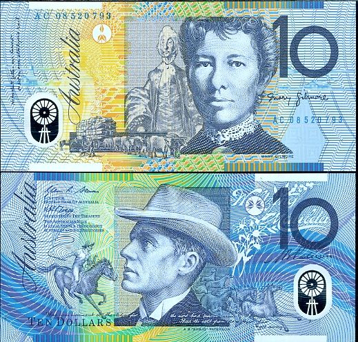 10 dolárov Austrália 2002-6 P58