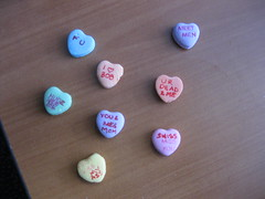 funny homemade candy hearts