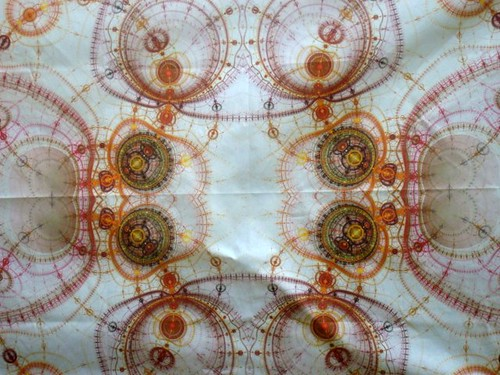 Steampunk fabric