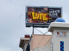 LUTE Graffiti - Oakland, CA (EndlessCanvas.com) Tags: graffiti billboard vandalism eastbay lute atb fill lutegraffiti