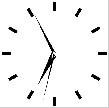 Analog Clock Screenshot