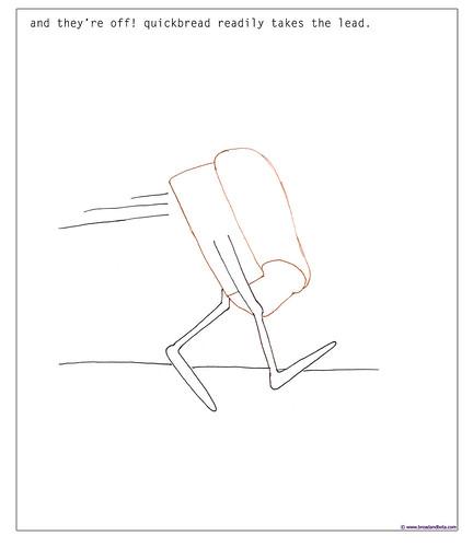 Bread Cartoon Panel 2