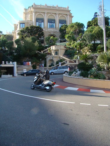 Monaco摩納哥_F1一級方程式著名的髮夾彎