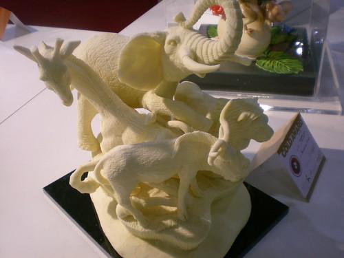 Animal Butter sculpture