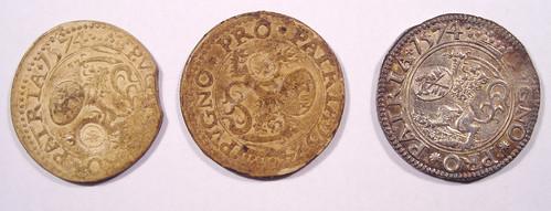 Leyden seige coins