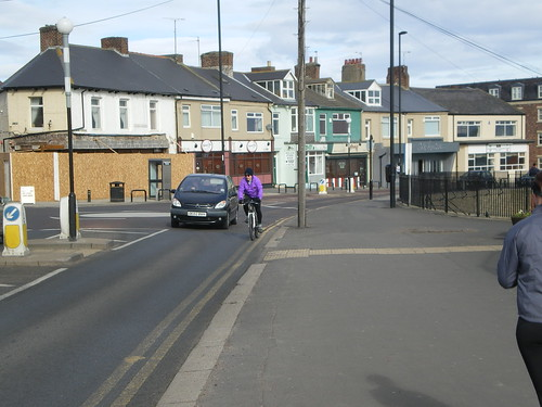 Traffic Pinch Points - A Hazard To Cyclists