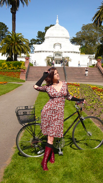 be a cyclist, wear a dress!