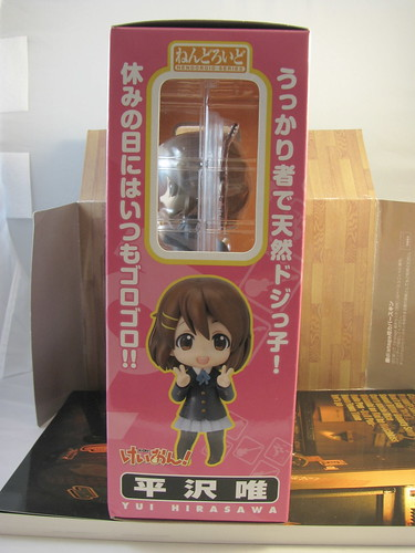 Nendoroid Yui box other side