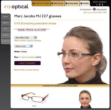 1fda55922fc Buying glasses online  short sighted thinking from retailers ...