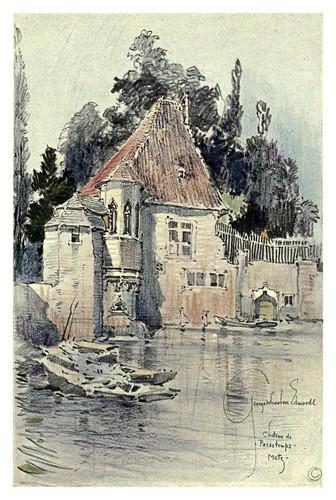 018- Metz-Castillo de Passetemps-Alsace-Lorraine-1918- Edwards George Wharton